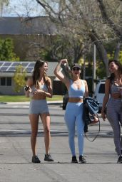 Victoria Justice and Madison Reed - Out in LA 03/24/2021