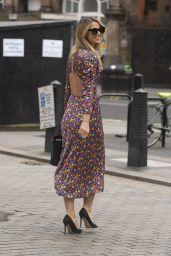 Vogue Williams at Global Radio in London 03/28/2021