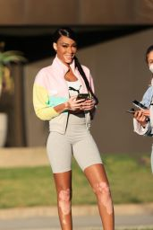 Winnie Harlow - Puma Campaign Photoshoot in Los Angeles 03/08/2021