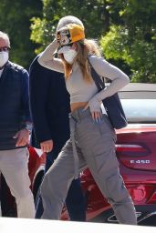 Addison Rae - Arrives at an Office Building in LA 04/06/2021
