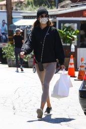 Alessandra Ambrosio in Casual Outfit - Brentwood Country Mart 04/15/2021