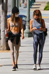 Alessandra Ambrosio - Outside a Pilates Class in LA 04/07/2021