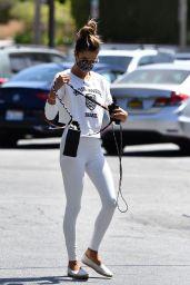Alessandra Ambrosio Street Style 04/15/2021