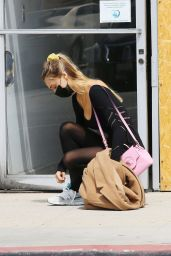 Alexis Ren at a Ballet Class in Los Angeles 04/04/2021