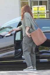 Alyson Hannigan - Out in Beverly Hills 04/15/2021