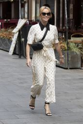 Amanda Holden - Leicester Square in Central London 04/26/2021