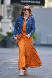 Amanda Holden Street Style 04/19/2021