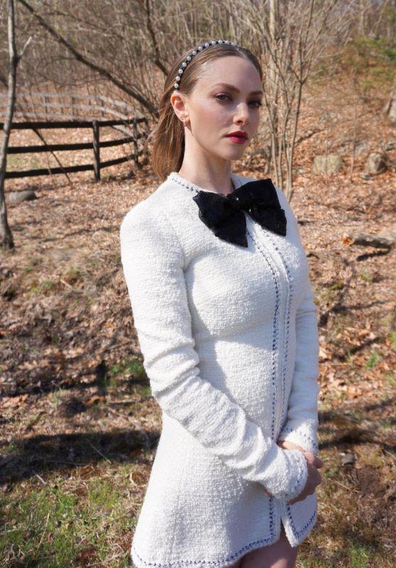 Amanda Seyfried - Photoshoot for 2021 Costume Designer Guild Awards