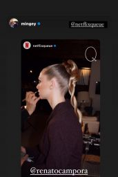Amanda Seyfried - Photoshoot for Netflix Que 2021