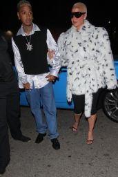 Amber Rose and Camaryn Swanson at The Nice Guy in West Hollywood 04/08/2021