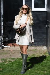 """Amber Turner – """"The Only Way is Essex"""" TV Show Filming in Essex 04/06/2021"""