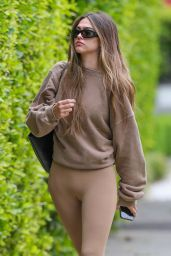 Amelia Gray Hamlin in Tights - West Hollywood 04/21/2021