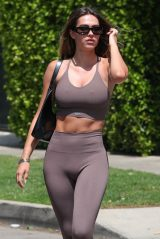 Amelia Gray Hamlin in Workout Outfit 04/12/2021