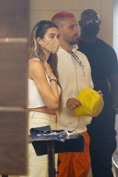 Amelia Hamlin and Scott Disick Visit Meche Salon in Beverly Hills 04/20/2021