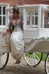 """Amy Childs – """"The Only Way is Essex"""" TV Show Filming in Essex 04/18/2021"""