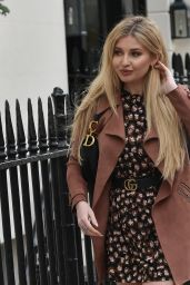 Amy Hart - Heading to a Business Meeting in London 04/15/2021