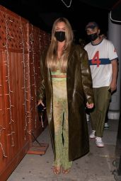 Anastasia Karanikolaou at the Nice Guy in West Hollywood 04/23/2021