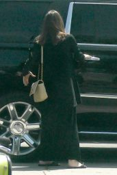 Angelina Jolie - Shopping For Flowers in Los Feliz 04/15/2021