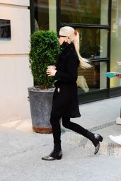 Anya Taylor Joy Street Fashion - New York 04/14/2021