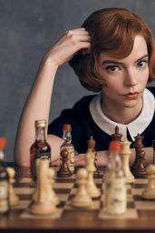 """Anya Taylor-Joy – """"The Queen's Gambit"""" Promoshoot"""