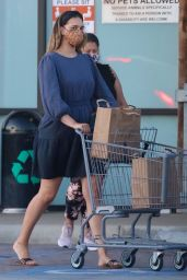 April Love Geary - Shopping at Vintage Grocers in Malibu 04/07/2021