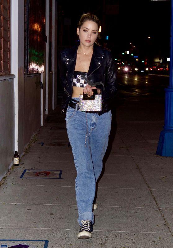 Ashley Benson - Delilah in Los Angeles 04/24/2021