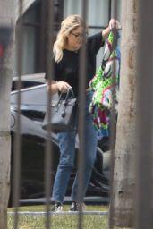 Ashley Benson With G-Eazy in Pasadena 04/11/2021