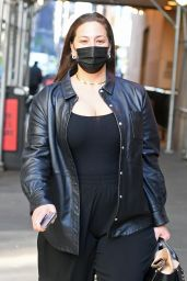 Ashley Graham - Arrives at the Michael Kors Fashion Show in NY 04/08/2021