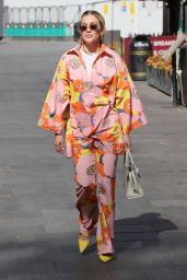 Ashley Roberts in a Floral Print Co-ord 04/27/2021