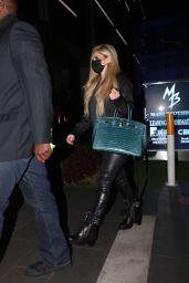 Avril Lavigne - BOA Steakhouse in Los Angeles 04/27/2021