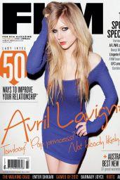 Avril Lavigne - FHM Australia March 2012