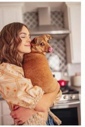 Bailee Madison - Byrdie Magazine Zoom Date With Bailee April 2021