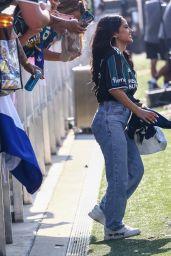 Becky G at LA Galaxy