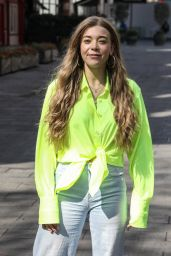 Becky Hill - Out in London 04/19/2021
