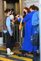 Bella Hadid and Irina Shayk - Michael Kors Fashion Show in New York 04/08/2021