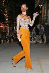 Bella Hadid – Gigi's Birthday in New York City 04/23/2021