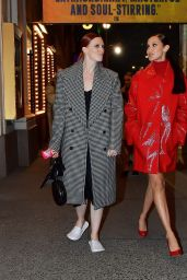 Bella Hadid in Red in New York 04/08/2021
