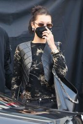 Bella Hadid is Stylish - Milan 04/14/2021