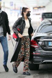 Bella Hadid - Leaving Her Hotel in Milan 04/15/2021