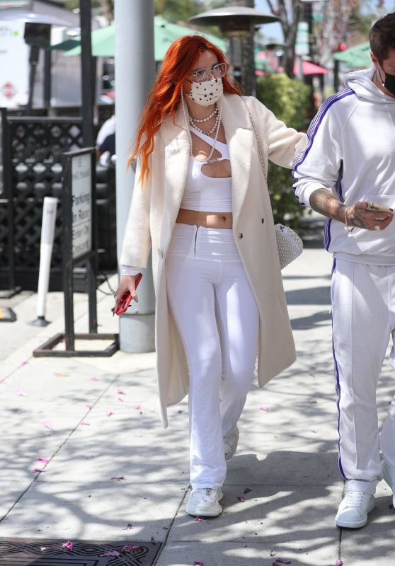 Bella Thorne - Out in Beverly Hills 04/16/2021