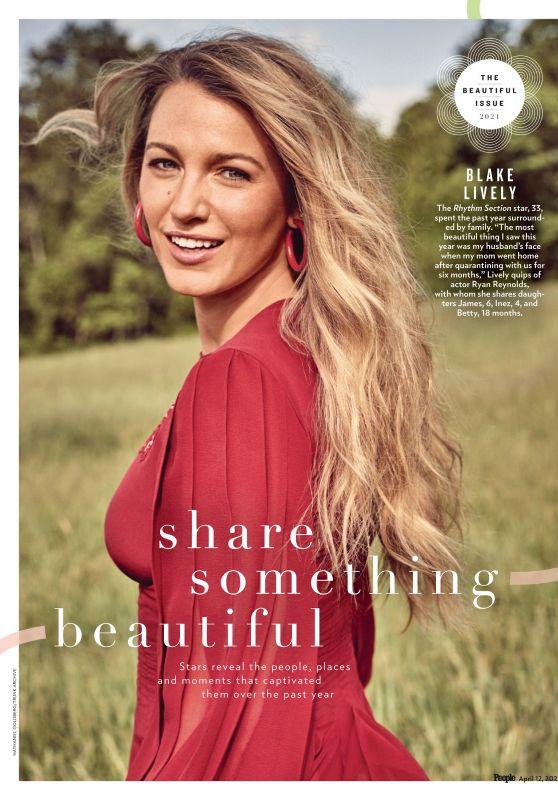 Blake Lively - PEOPLE Magazine Beautiful Issue 2021