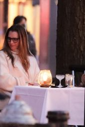 Brooke Shields and Chris Henchy - New York 04/11/2021
