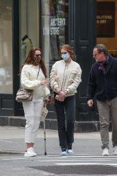 Brooke Shields - Jewelry Shopping in New York 04/22/2021