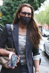 Brooke Shields Street Style - West Village, New York 04/21/2021
