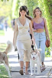 Camila Morrone and Lucila Solá - Walk to the Santa Monica Farmer