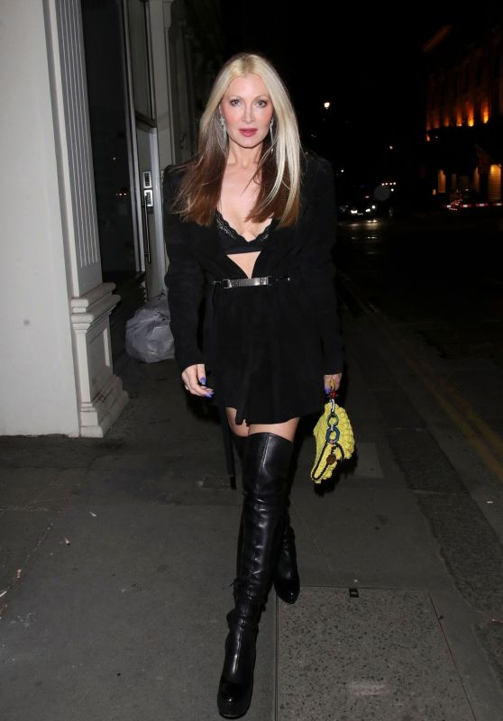 Caprice at The Arts Club in London
