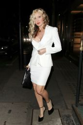 Caprice Night Out Style - Arts Club in Mayfair 04/27/2021