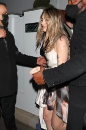 Cara Delevingne and Paris Jackson - Leaving a Private Oscars Party in Bel Air 04/25/2021