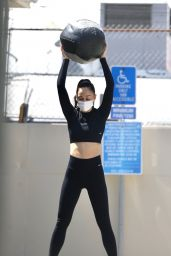 Cara Santana at the Gym in West Hollywood 04/06/2021