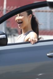 Cara Santana in Workout Gear - Los Angeles 04/05/2021